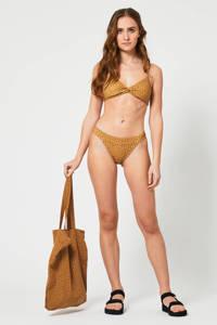 America Today bikinibroekje Ayya bruin, Brown/Black