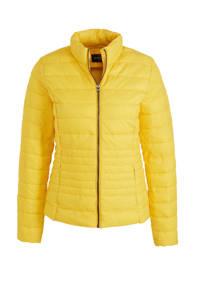 C&A Yessica gewatteerde jas geel, Geel