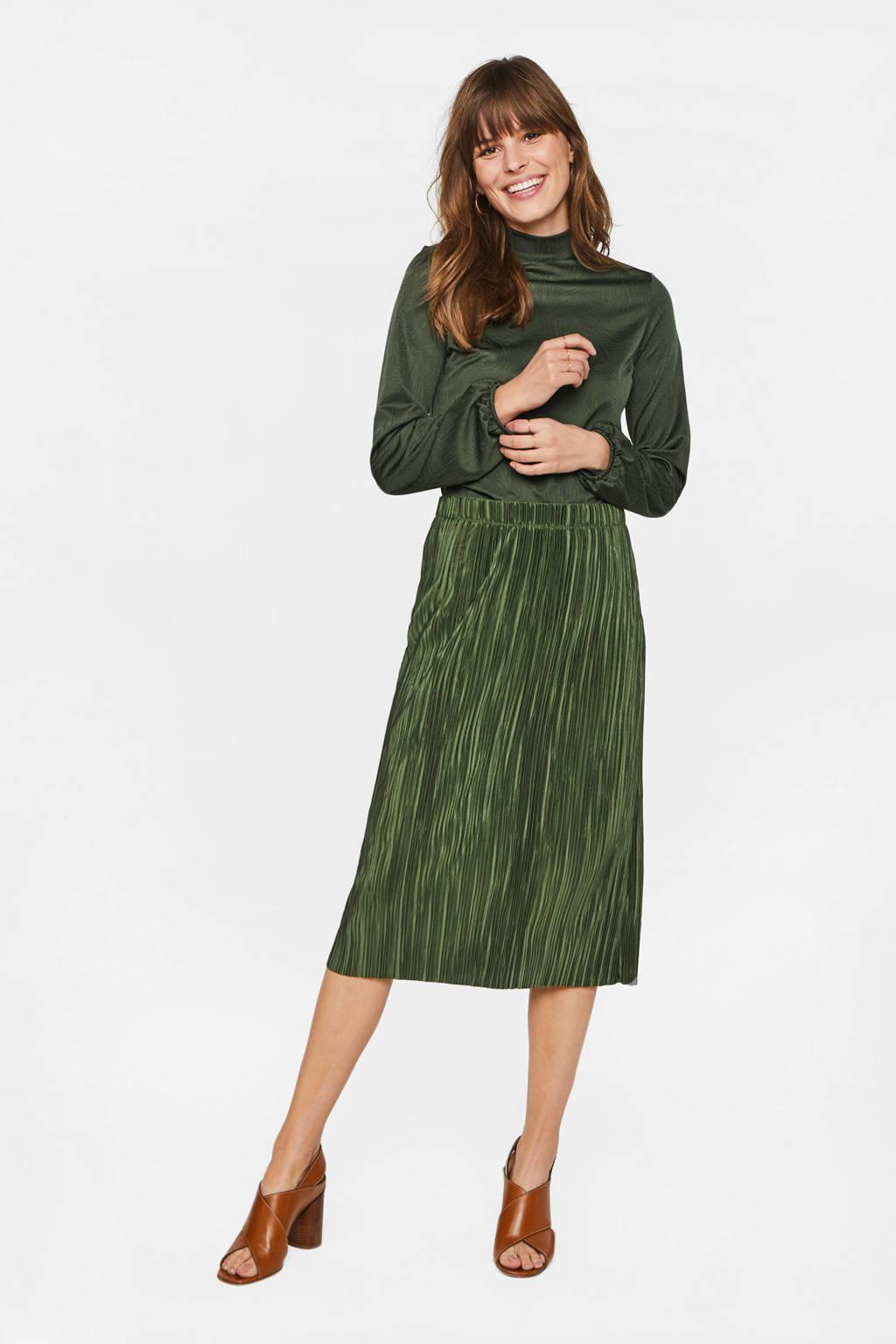 WE Fashion top groen, Groen
