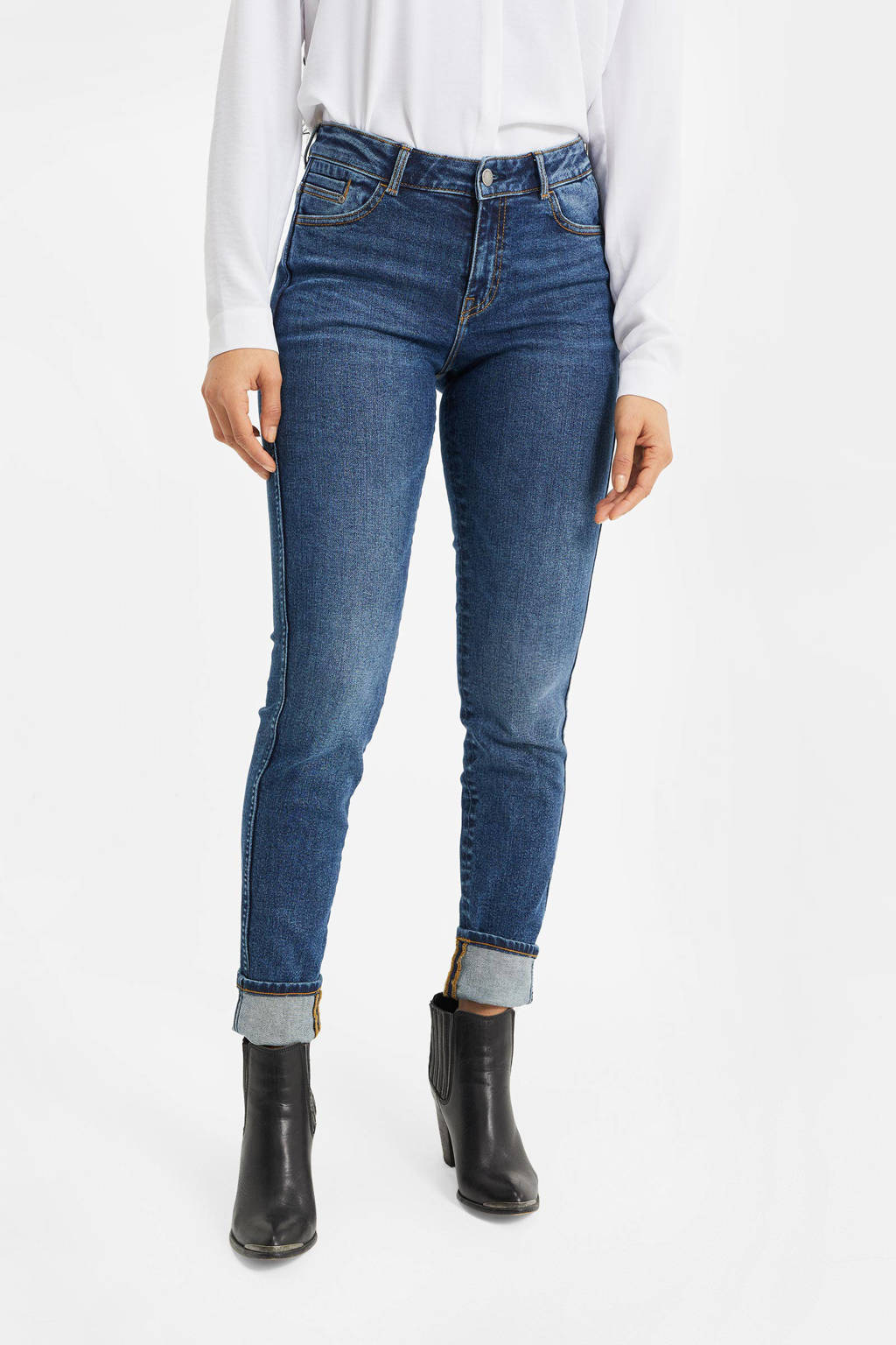 WE Fashion Blue Ridge skinny jeans bright blue denim, Bright Blue Denim