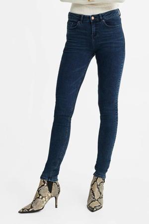 super skinny jeans dark blue denim