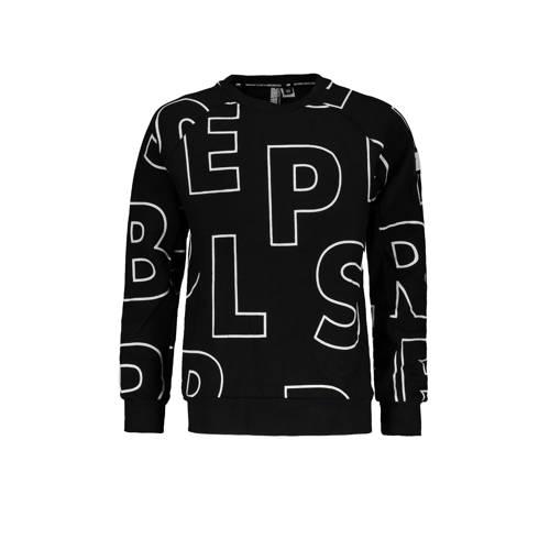 SuperRebel sweater zwart