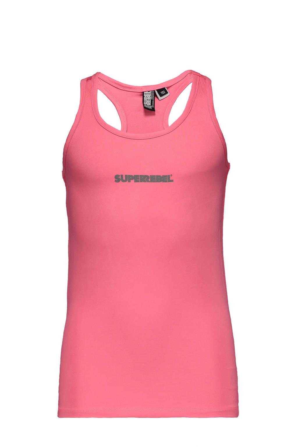 SuperRebel sporttop roze, Roze