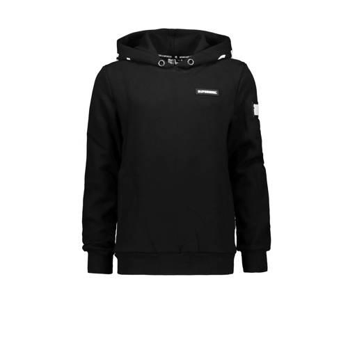 SuperRebel hoodie zwart