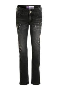 Raizzed skinny jeans Georgia zwart denim stonewashed, Zwart denim stonewashed