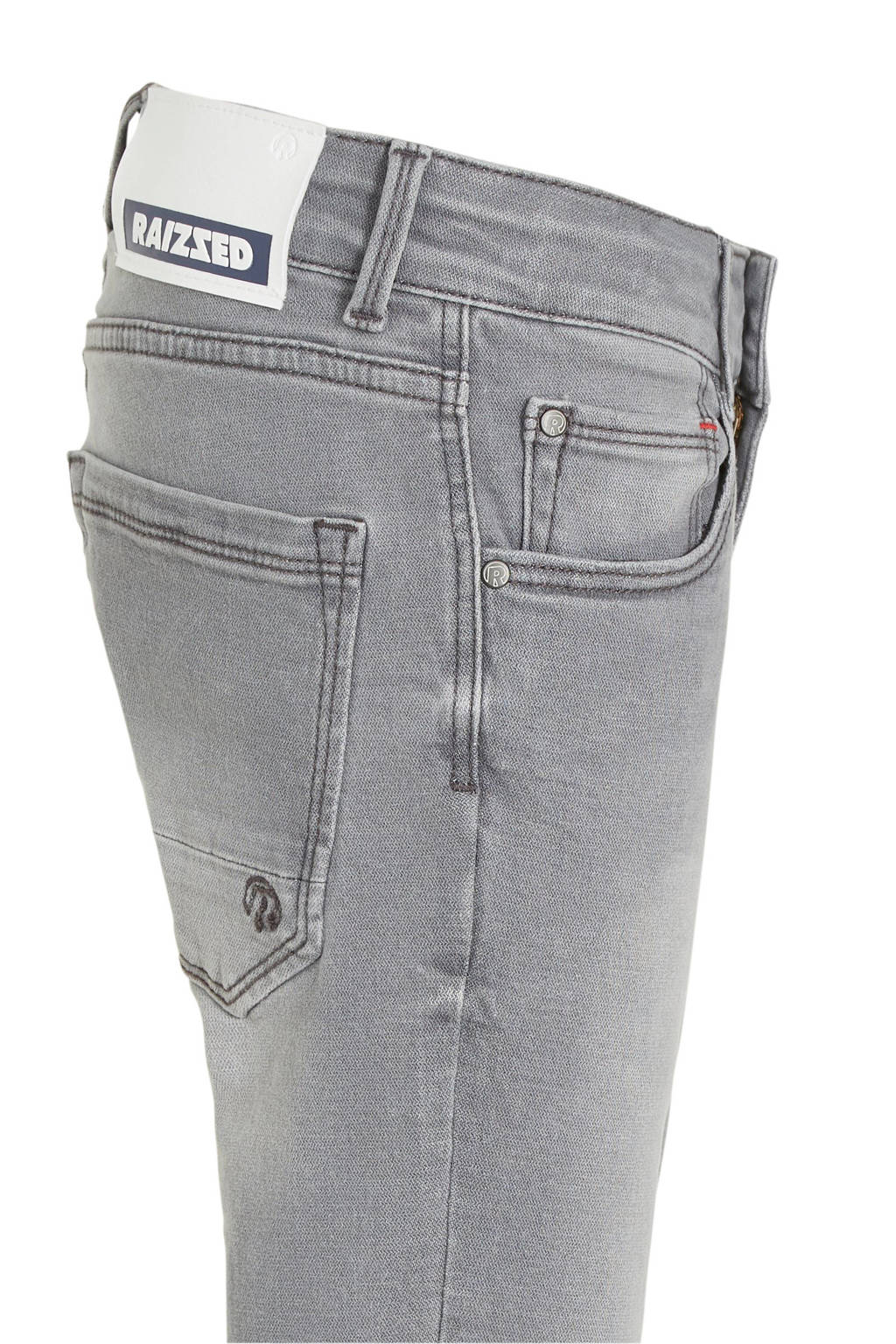 Raizzed slim fit jeans Boston grijs stonewashed, Grijs stonewashed