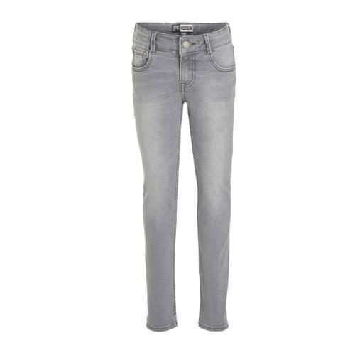 Raizzed slim fit jeans Boston grijs stonewashed