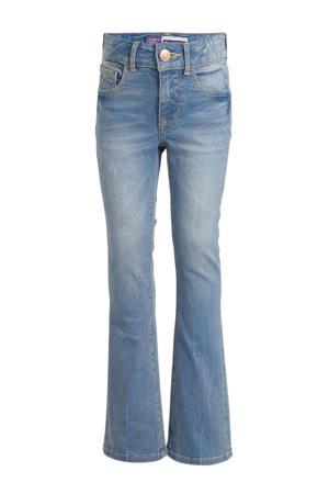 high waist flared jeans Melbourne light denim