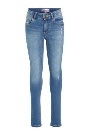 high waist super skinny jeans Chelsea stonewashed