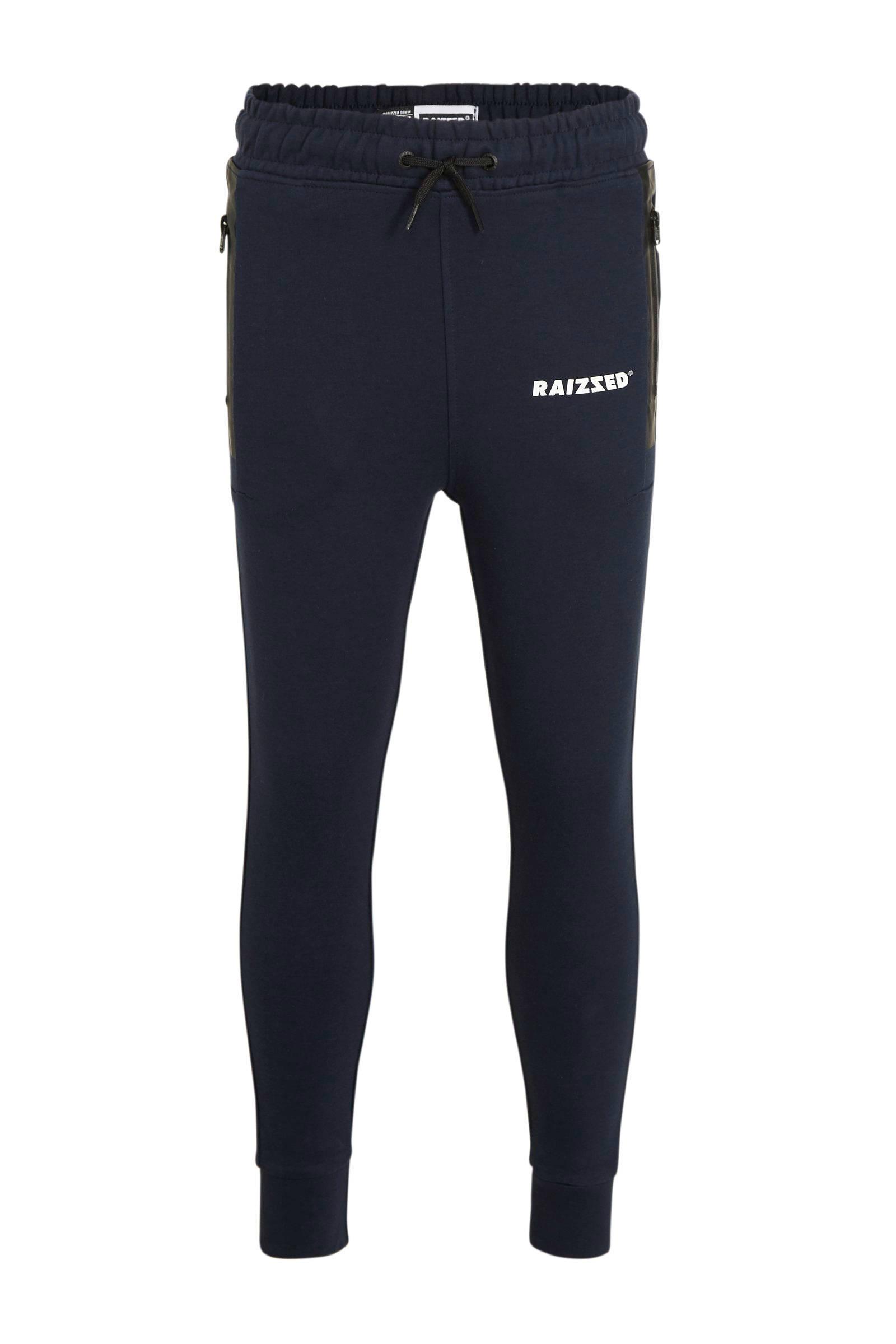 skinny joggingbroek Seattle donkerblauwwitzwart