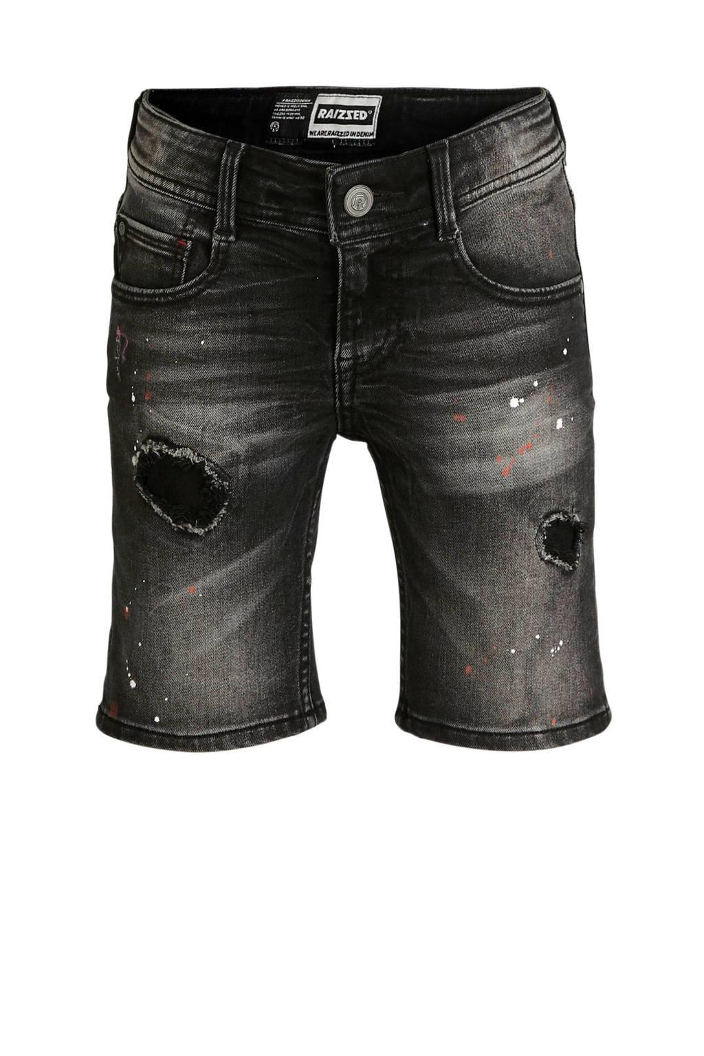Raizzed jeans bermuda Oregon Crafted vintage black, Vintage black