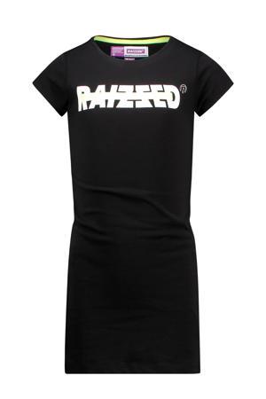 T-shirtjurk Malaga met logo zwart/wit