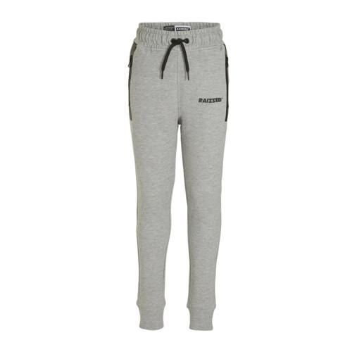 Raizzed skinny joggingbroek Seattle grijs/zwart