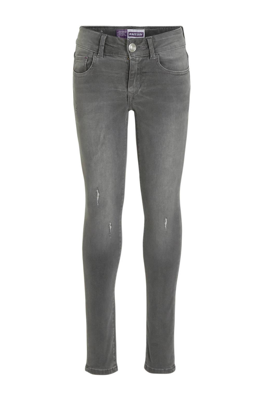 Raizzed super skinny jeans Adelaide grijs, Grijs