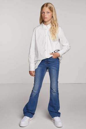 flared jeans NLFPIL medium blue denim