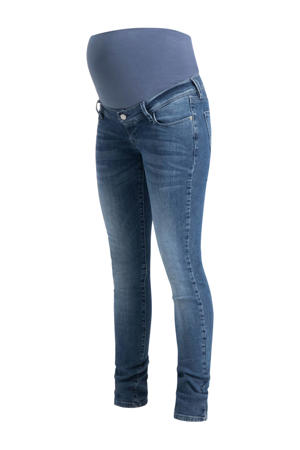 low waist super skinny zwangerschapsjeans Avi light denim stonewashed