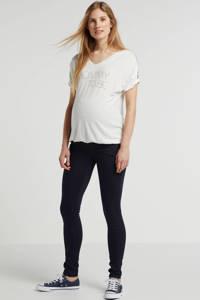 Noppies low waist super skinny zwangerschapsjeans Romy donkerblauw, Donkerblauw