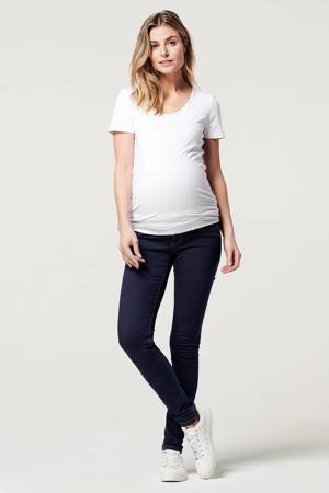 low waist super skinny zwangerschapsjeans Ella dark denim