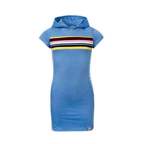 LOOXS T-shirtjurk met printopdruk lichtblauw