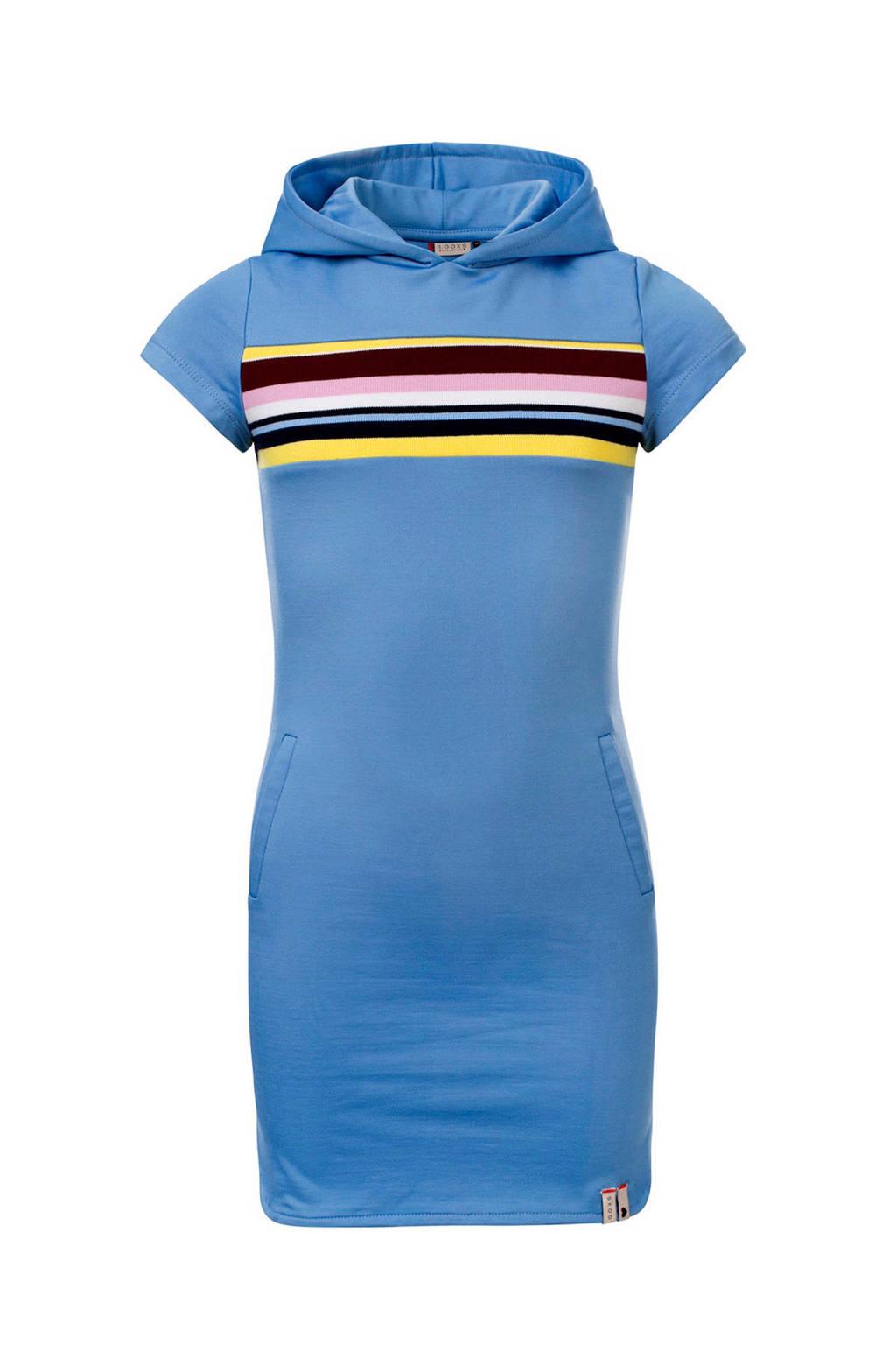 LOOXS T-shirtjurk met printopdruk lichtblauw, Lichtblauw