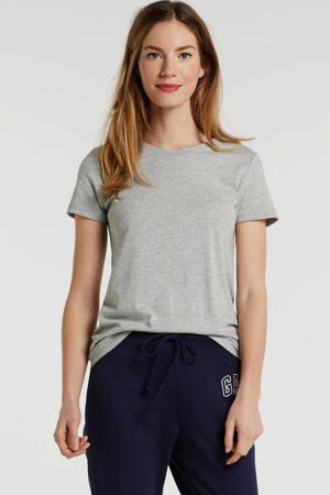 low waist loose fit joggingbroek met logo donkerblauw