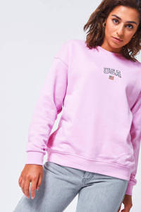 America Today sweater Sonny met logo roze, Roze