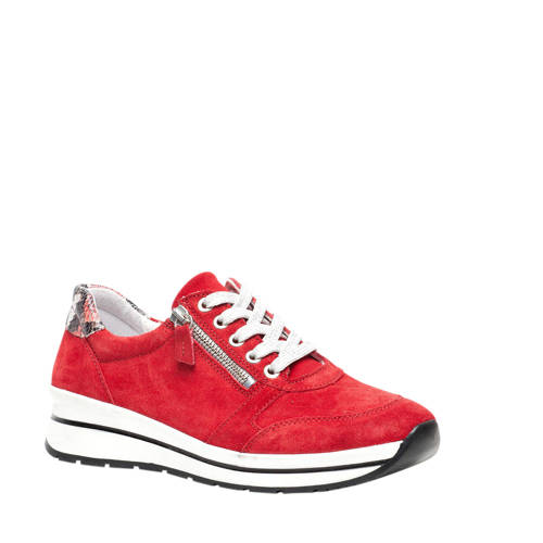 Hush Puppies su??de sneakers rood