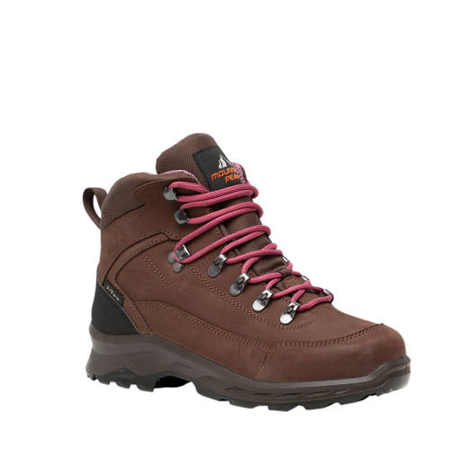Scapino Mountain Peak leren wandelschoenen bruin