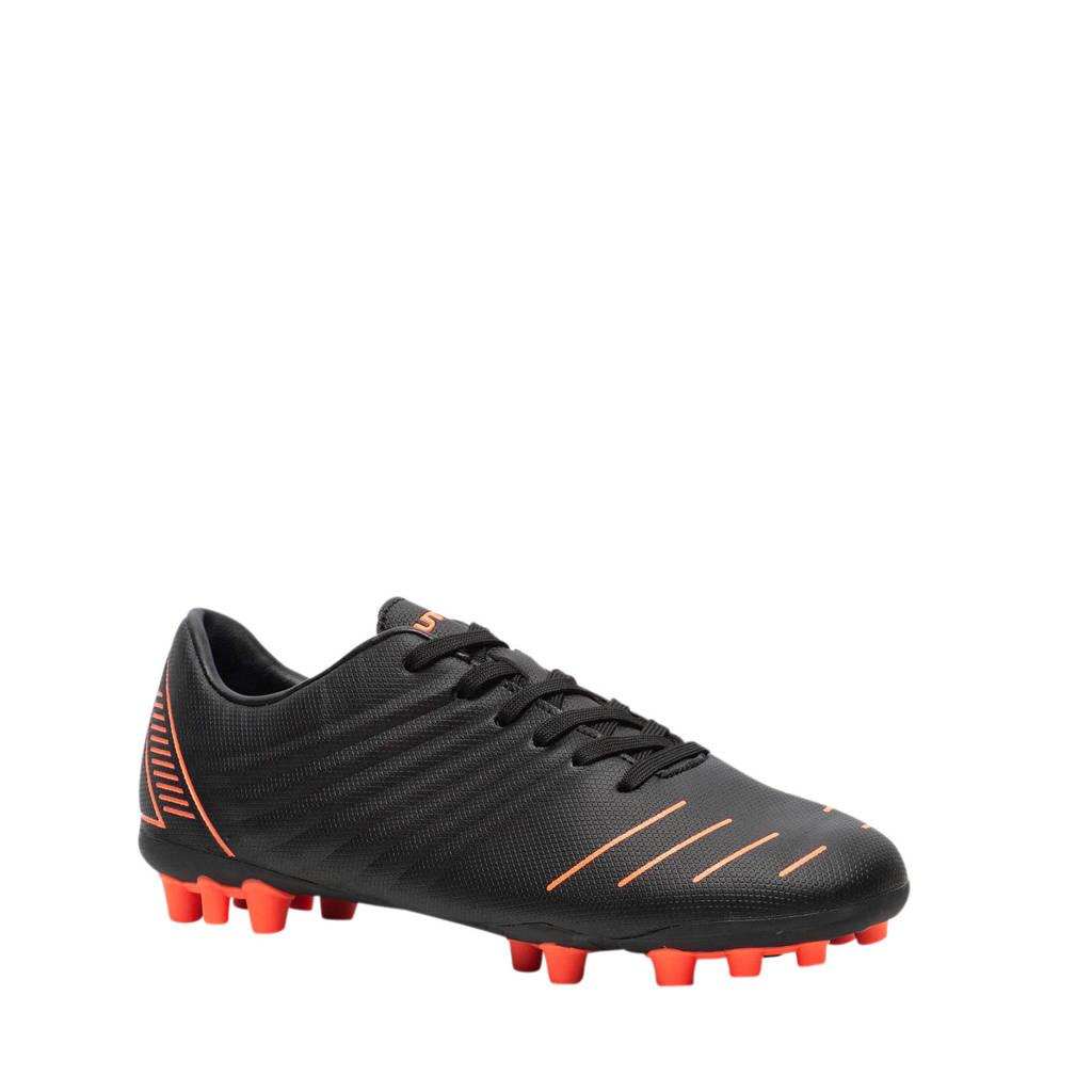 Scapino Dutchy   MG voetbalschoenen zwart/oranje, Zwart/oranje
