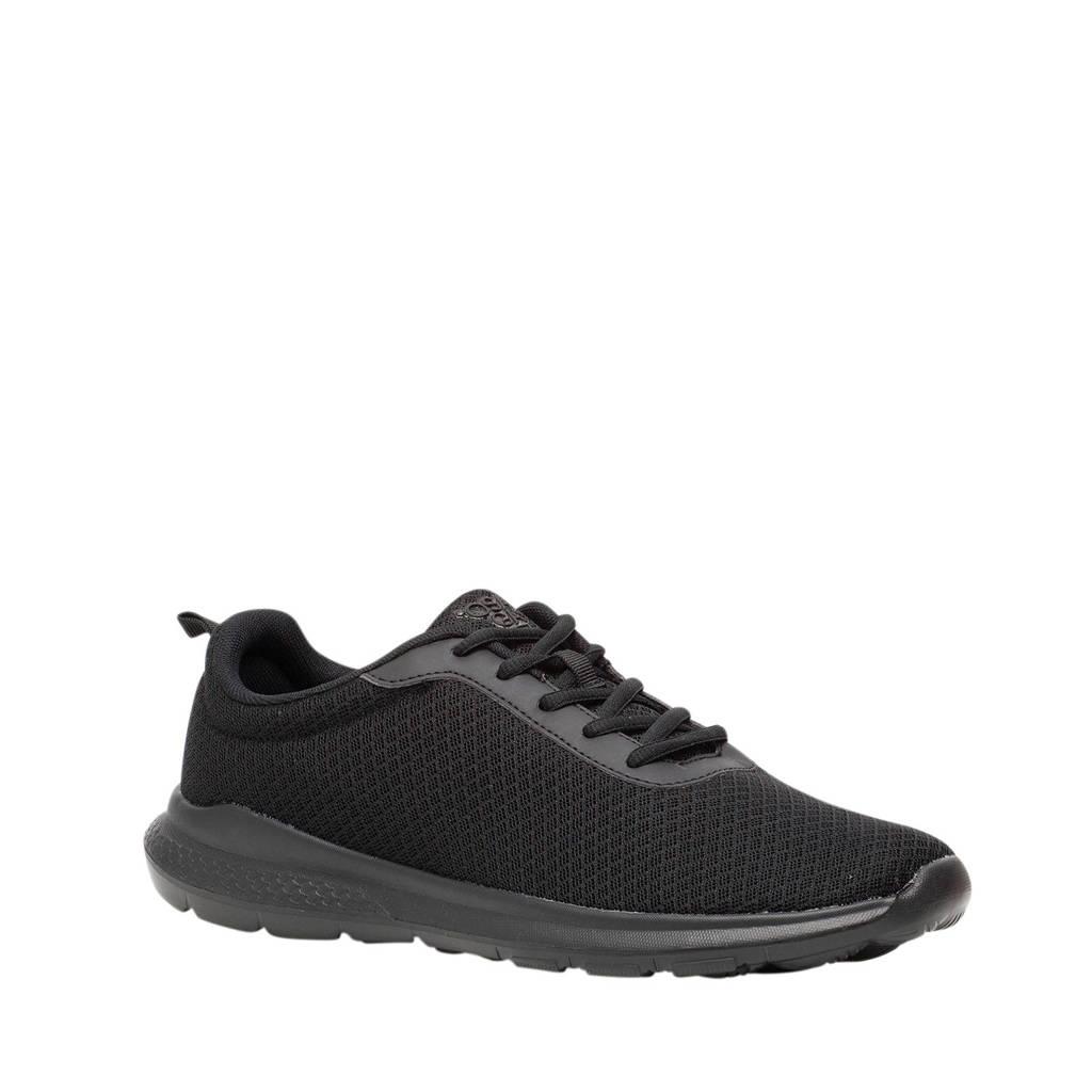 Scapino Osaga   fitness schoenen zwart, Zwart/Zwart