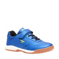 Scapino Dutchy Attack  indoor voetbalschoenen kobaltblauw, Kobaltblauw/zwart