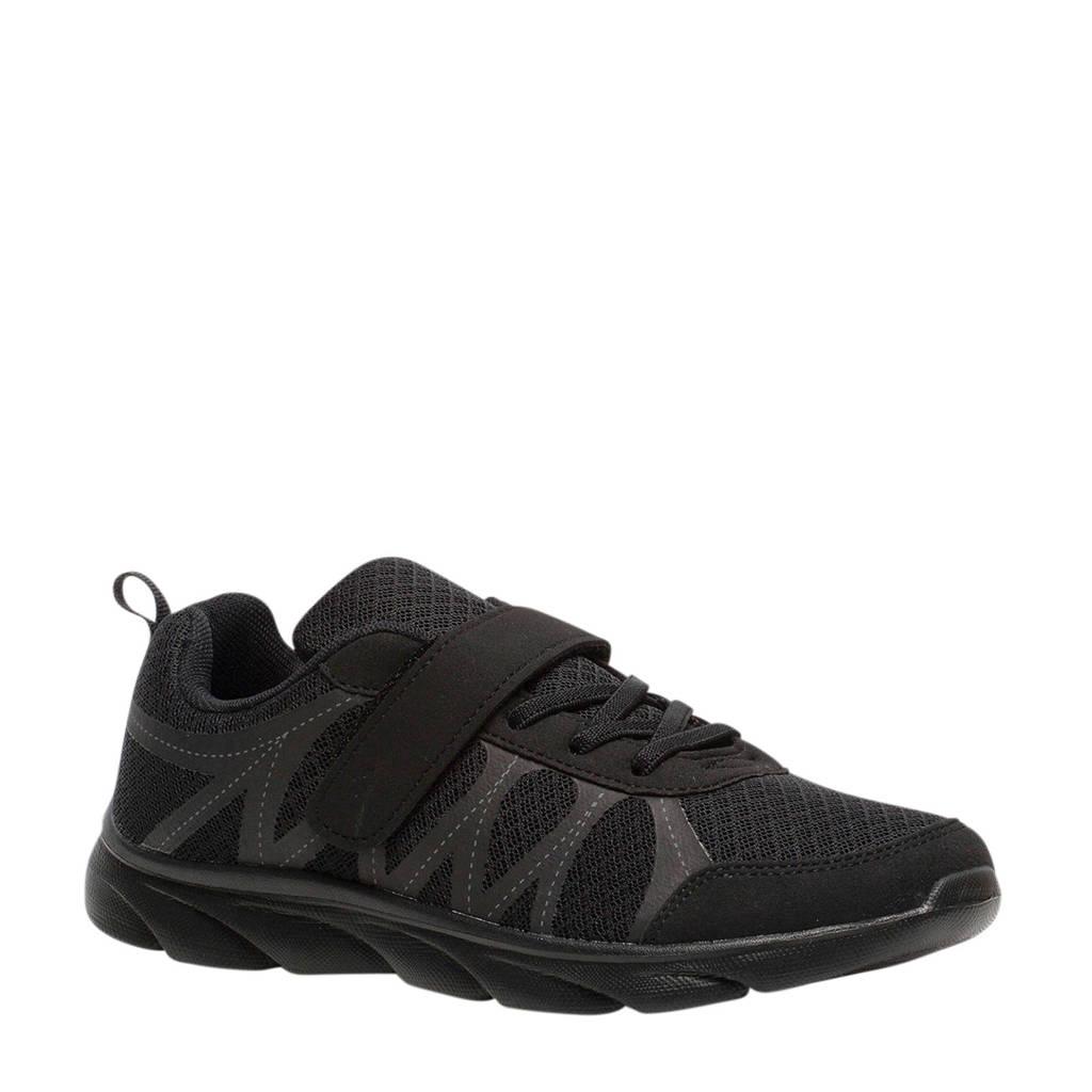 Scapino Osaga   sportschoenen zwart, Zwart/Zwart