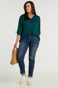 LTB skinny jeans Vivien donkerblauw, Donkerblauw
