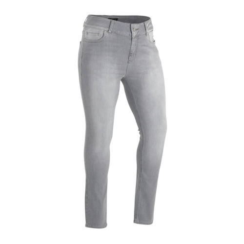 LTB skinny jeans Maren lichtgrijs