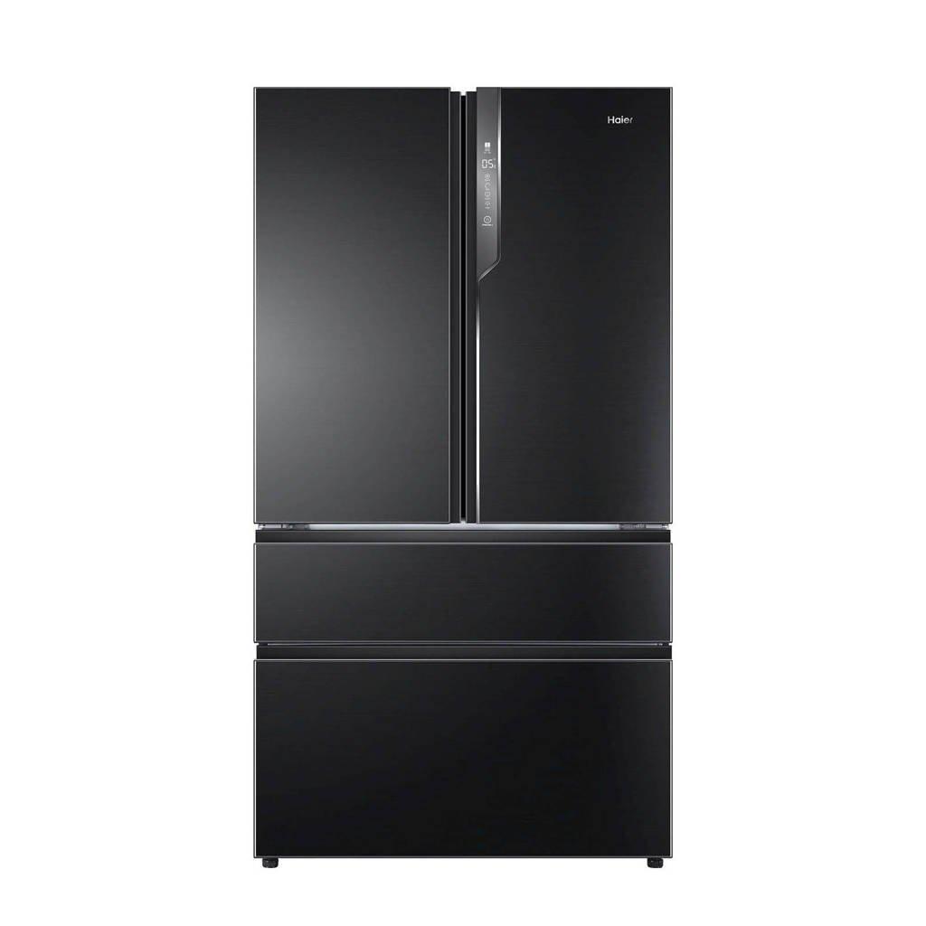 Haier  amerikaanse koelkast, Zwart