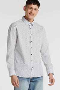 No Excess slim fit overhemd wit, Wit