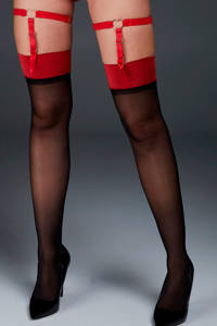 Hunkemöller Private jarretel Cuffs rood, Rood