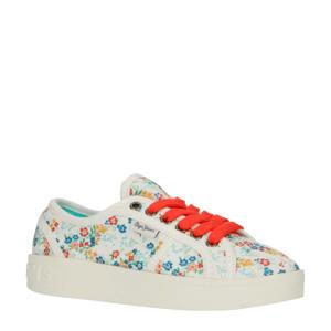 Brixton Flowers sneakers wit/multi