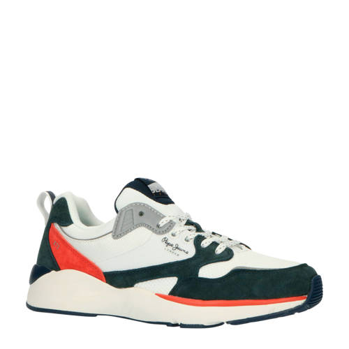 Pepe Jeans Blake X73 sneakers wit/antraciet