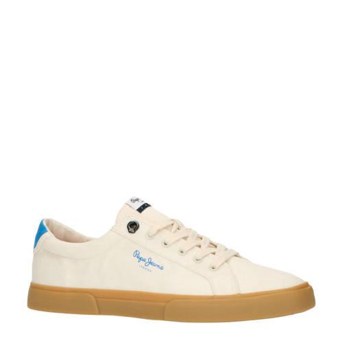 Pepe Jeans Kenton Basic Man sneakers ecru/blauw