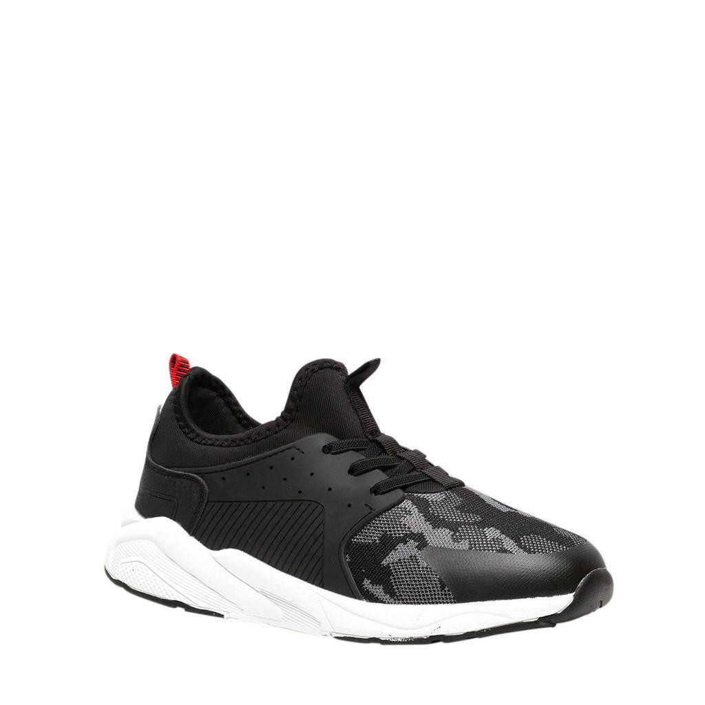 Scapino Osaga   sneakers zwart/wit, Zwart/wit