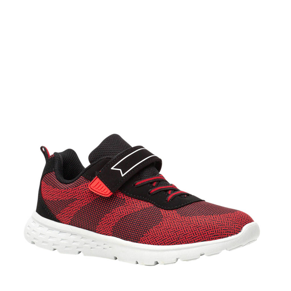 Scapino Osaga   sportschoenen rood/zwart, Rood/zwart