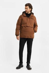 WE Fashion Anorak winterjas bruin, Bruin
