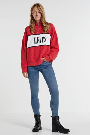 super skinny jeans Jackie mid blue