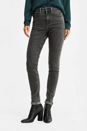 high waist skinny jeans grijs
