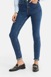 WE Fashion Blue Ridge high waist skinny jeans blue denim, Blue denim
