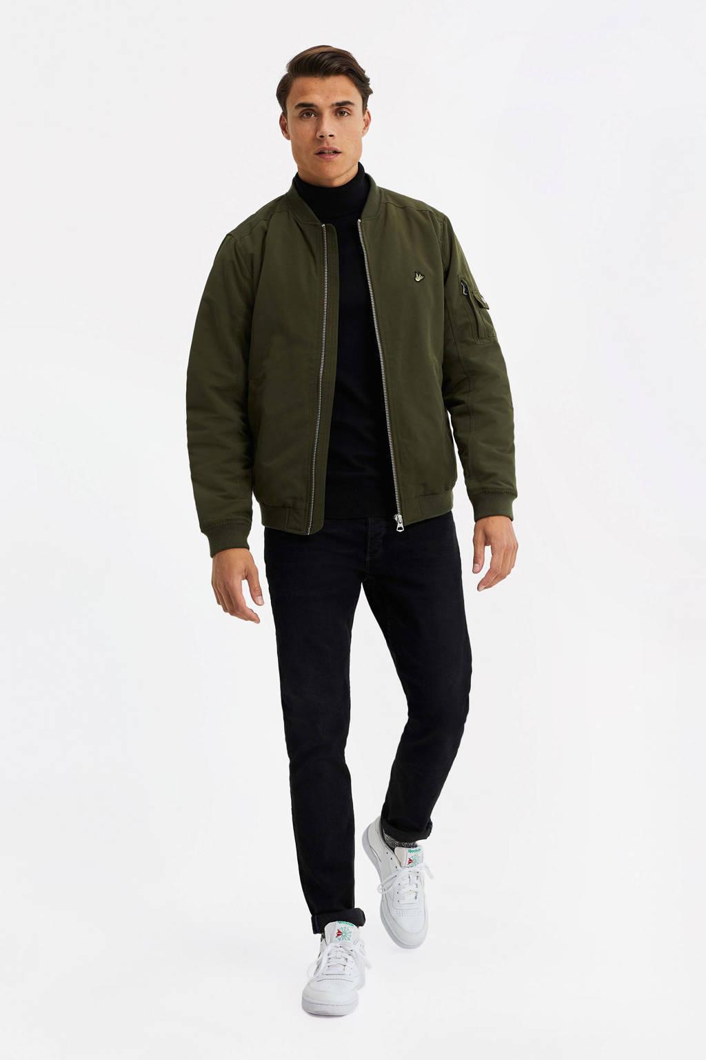 WE Fashion bomberjack groen, Groen