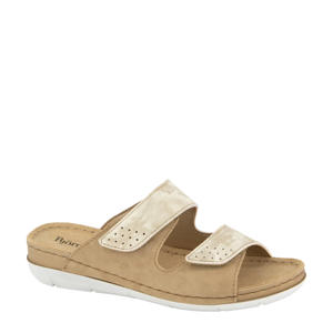 slippers beige/zand