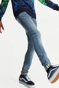 WE Fashion Blue Ridge super skinny jeans grijs blauw stonewashed, Grijs blauw stonewashed