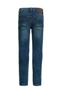 WE Fashion Blue Ridge super skinny jeans donkerblauw, Donkerblauw